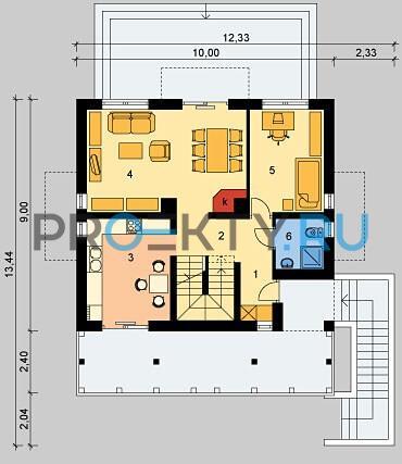 План проекта LK&554 - 1