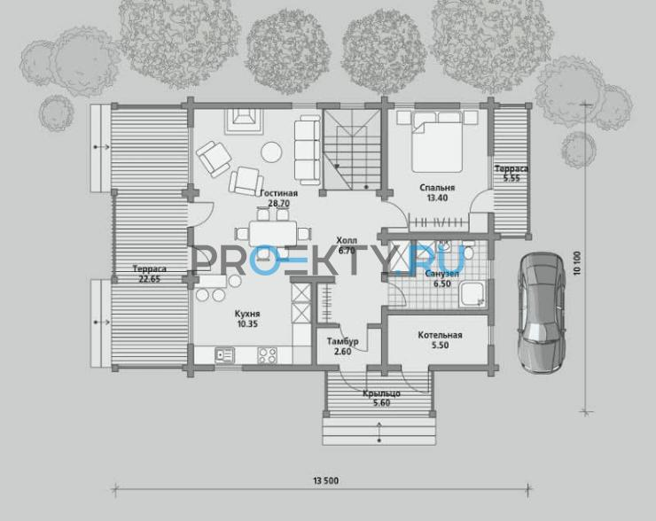 План проекта Б 150 - 1