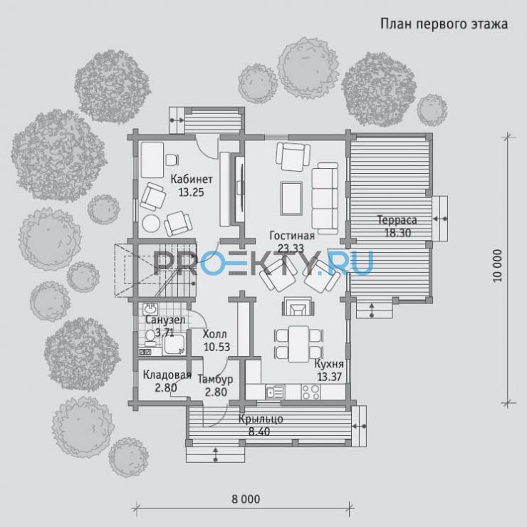 План проекта Б 154 - 1