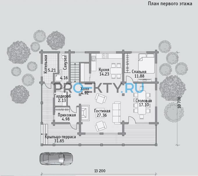 План проекта Б 170 - 1