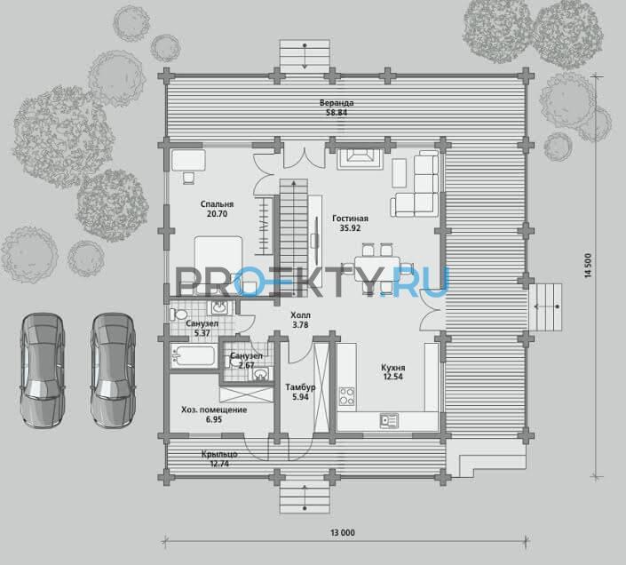 План проекта Б 188 - 1