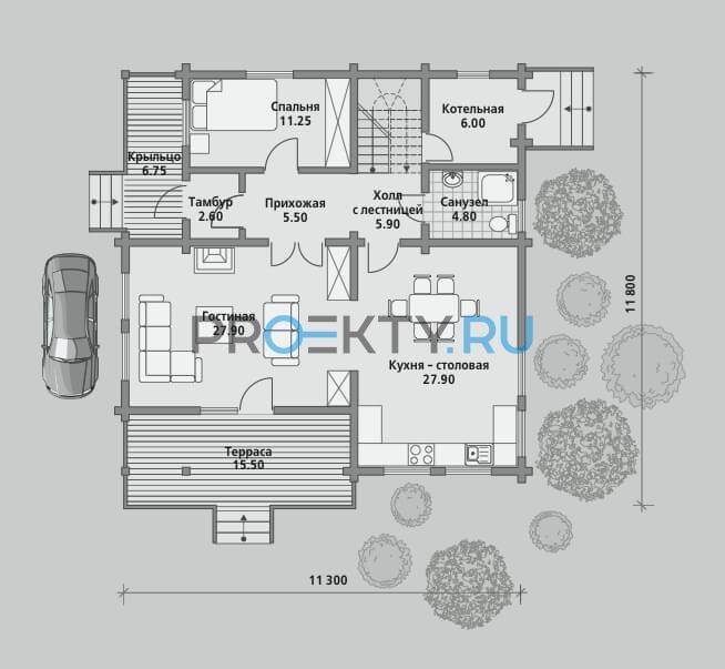 План проекта Б 195 - 1