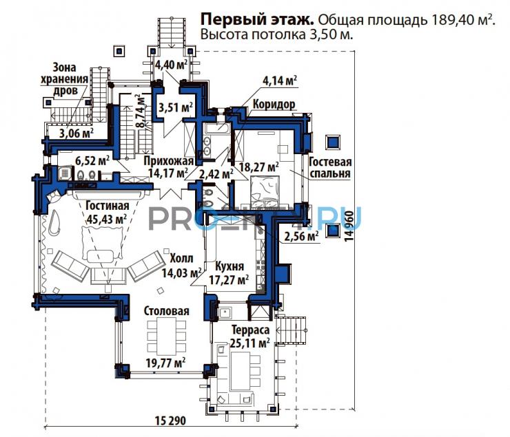План проекта Лесной дом - 2