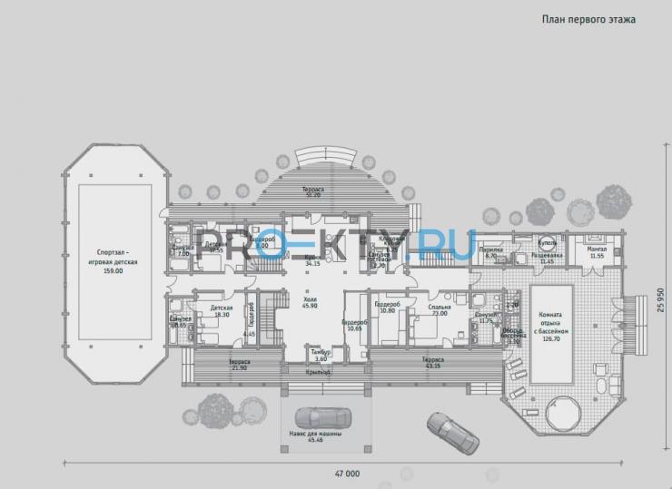 План проекта Б 855 - 1