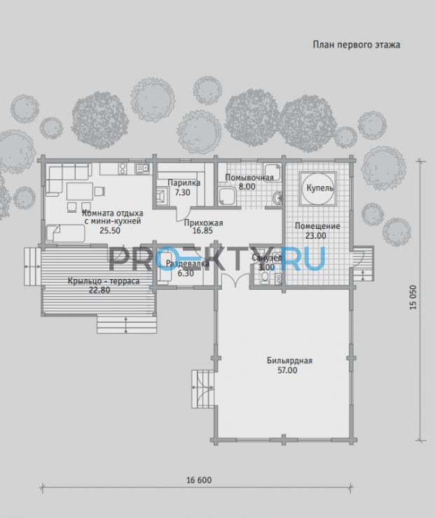 План проекта Баня БН 154 - 1
