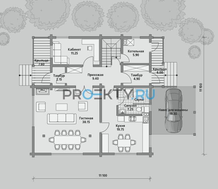 План проекта Б 214 - 1