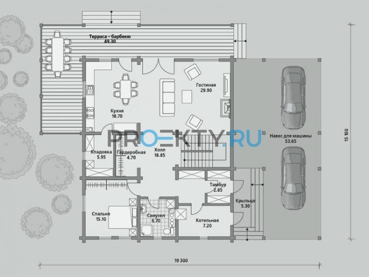 План проекта Б 215 - 1