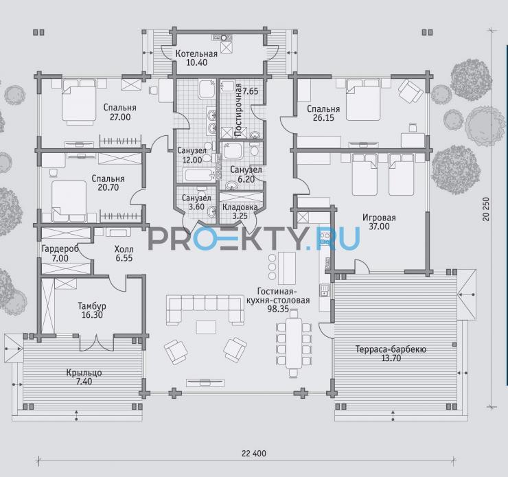 План проекта Б 314 - 1