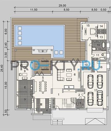 План проекта LK&900 - 1