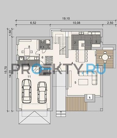 План проекта LK&933 - 1