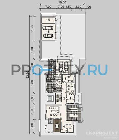 План проекта LK&990 - 1