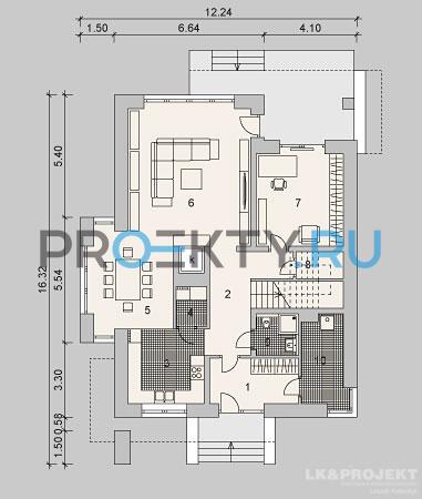 План проекта LK&896 - 1