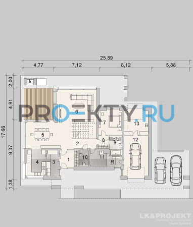 План проекта LK&1084 - 1