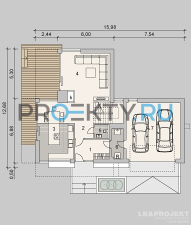 План проекта LK&935 - 1