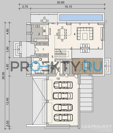 План проекта LK&1121 - 1