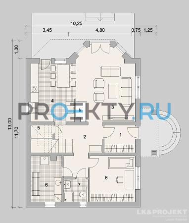 План проекта LK&731 - 1