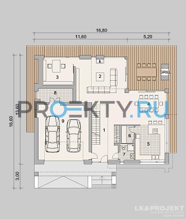План проекта LK&1255 - 2