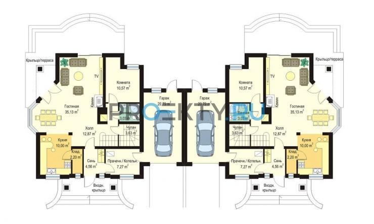 План проекта Дом на Медаль - 1