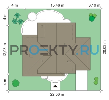 План проекта Дом в Березках - 3