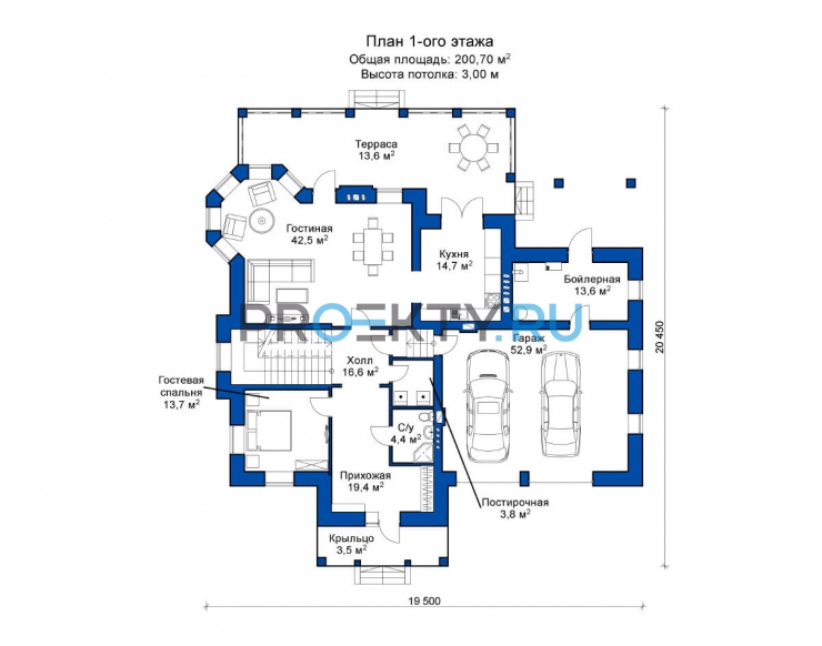 План проекта Лион 2 - 1