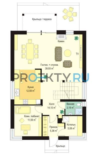 План проекта Городской - 1