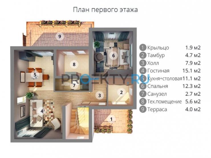 План проекта МС-176 - 1