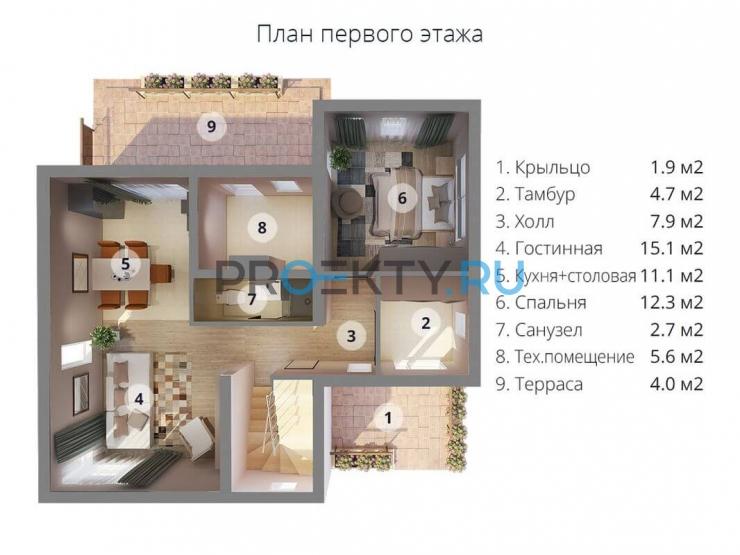 План проекта МС-186 - 1