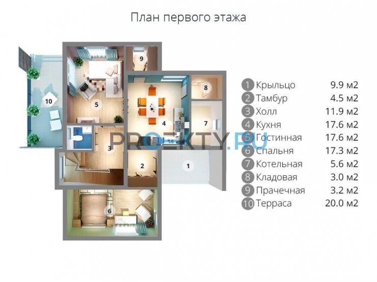 План проекта МС-238 - 1