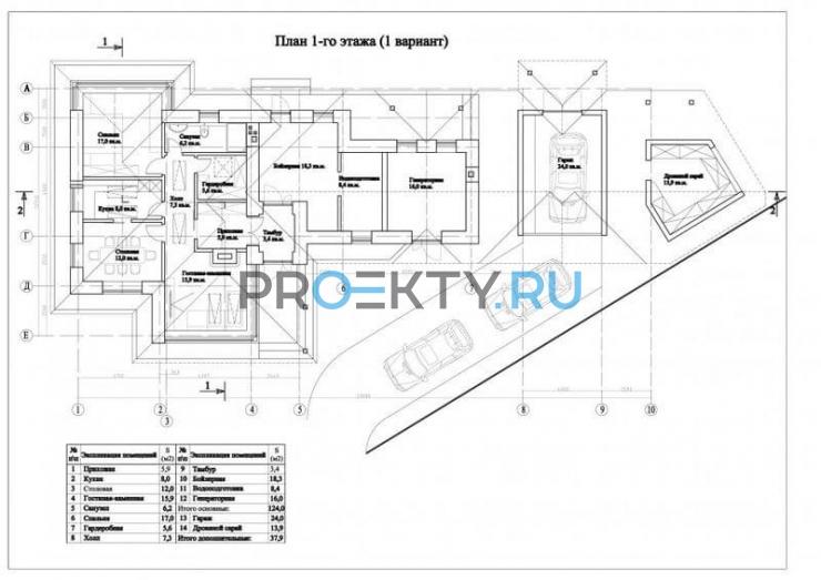План проекта Натур - 1