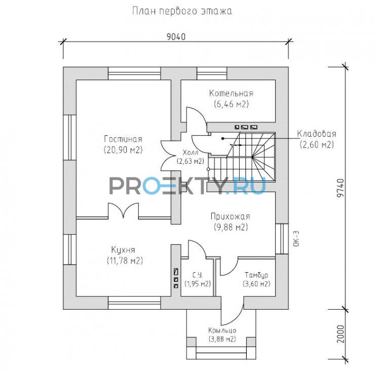 План проекта Лавальд 3 - 1