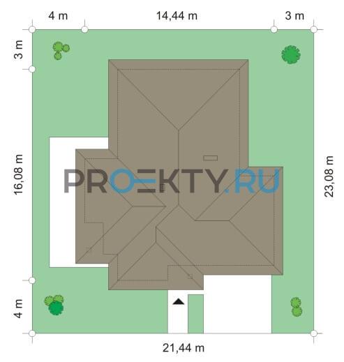 План проекта Дом по размеру-2 - 3