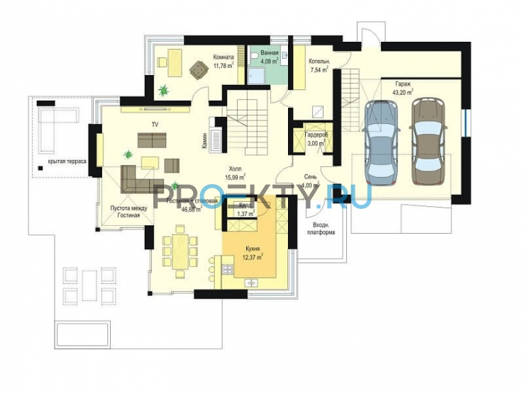 План проекта Дом с Видом-3 - 1