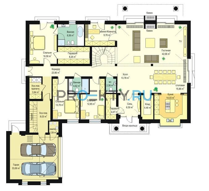 План проекта Парковая Резиденция-3 - 1