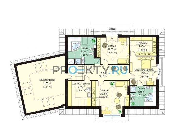 План проекта Дом с Колоннами - 2