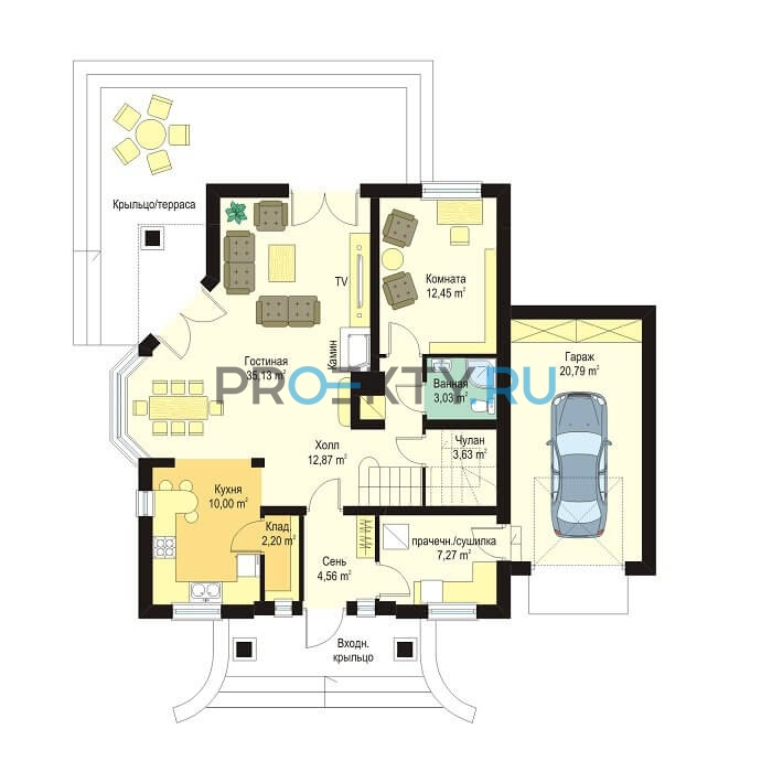 План проекта Дом на Медаль-2 - 1