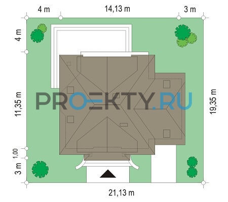 План проекта Дом на Медаль-2 - 3