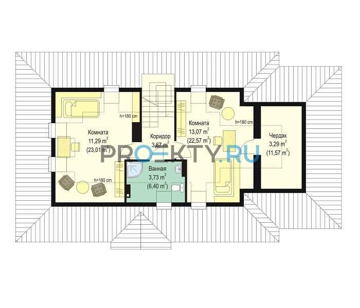 План проекта Гаргамель с гаражом - 2