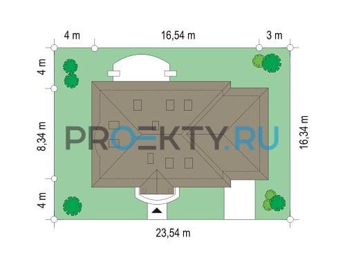 План проекта Гаргамель с гаражом - 3