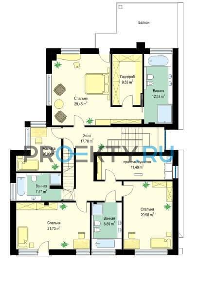План проекта Лесная Резиденция - 2