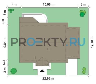 План проекта Незабудка с гаражом - 3