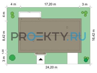 План проекта Солнечный с гаражом-2 - 2