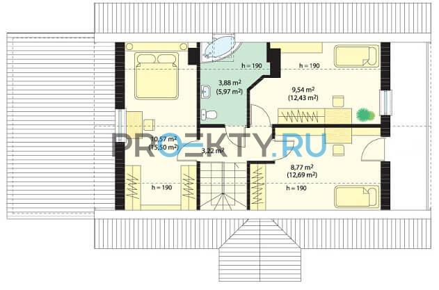 План проекта Радостный с гаражом - 3