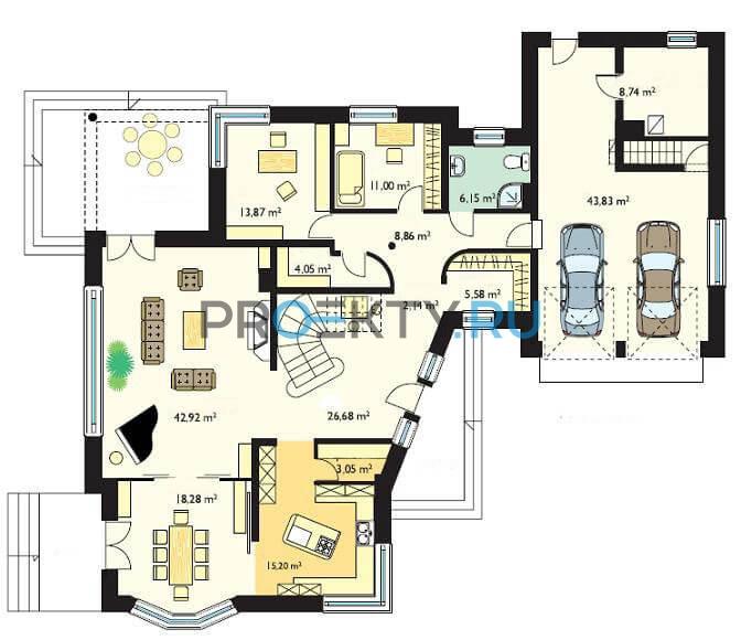 План проекта Резиденция - 1