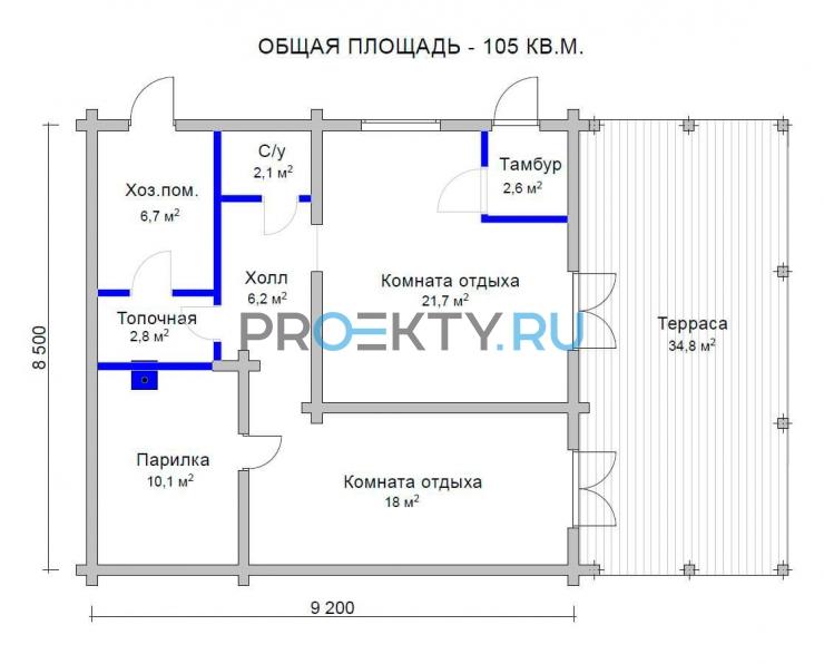 План проекта Казачка - 1