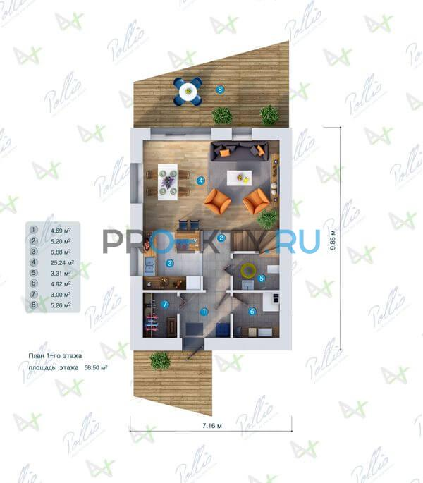 План проекта P1 - 1