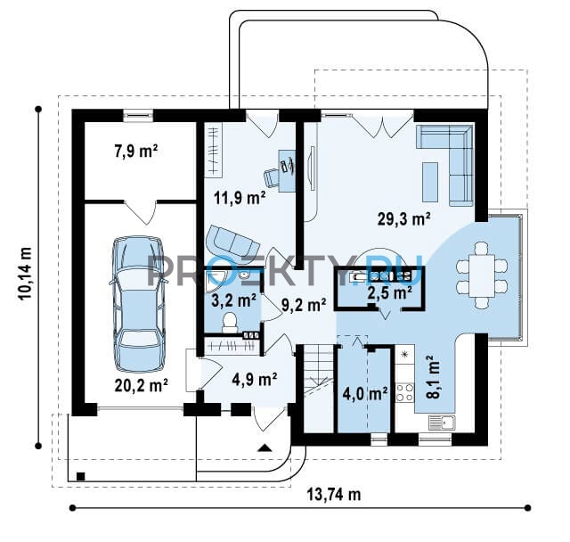 План проекта Z234 - 1