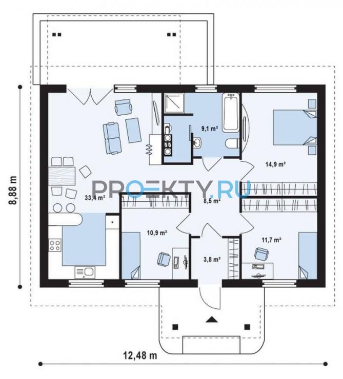 План проекта Z61 - 1