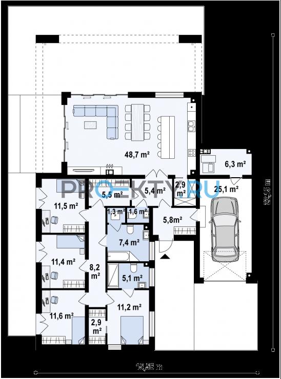 План проекта Zx185 - 1