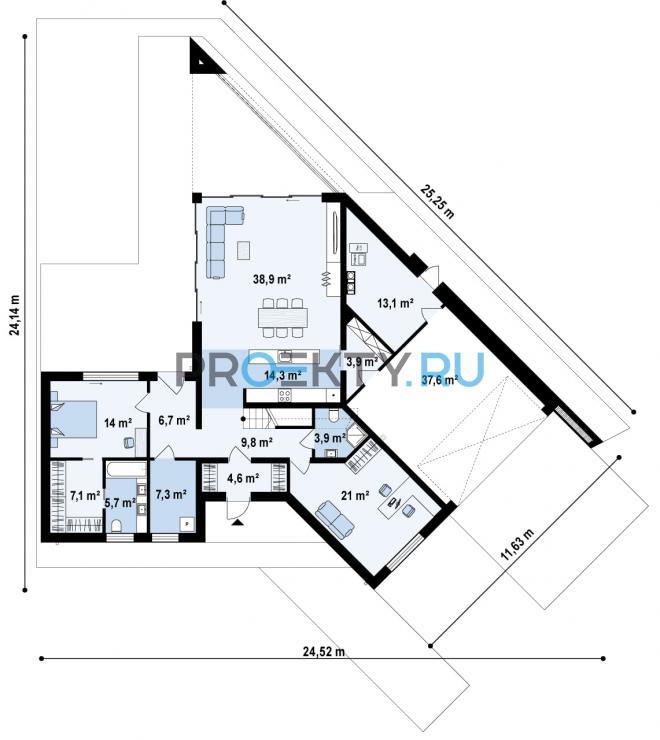 План проекта Zx94 - 1