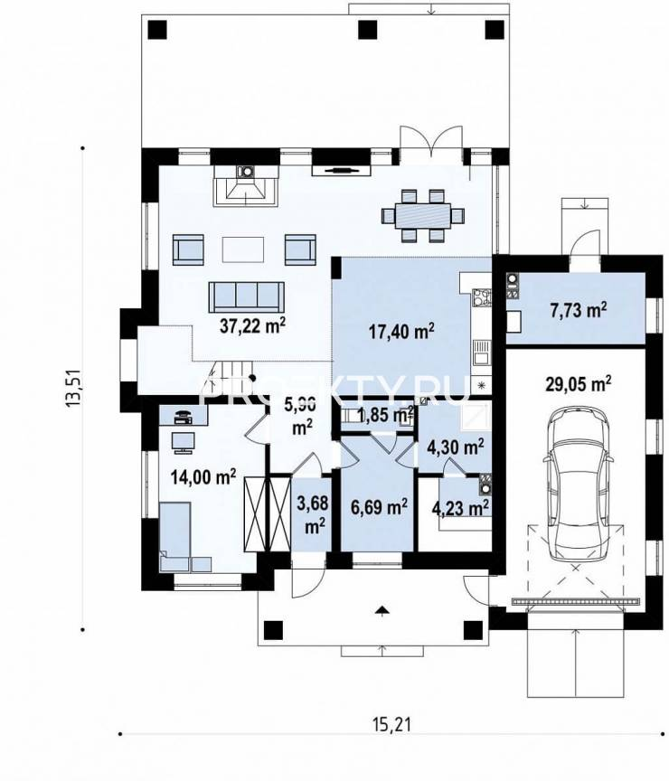 План проекта Zz2 L plus